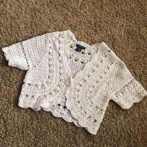 American eagle crochet Bolero